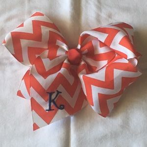 """Other - """"K"""" initial hair bow"""